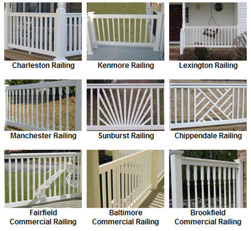 Mid Atlantic Vinyl Railing Vinyl Railings Fencing Porch